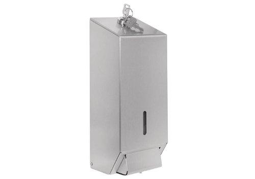 Jantex RVS zeepdispenser professioneel