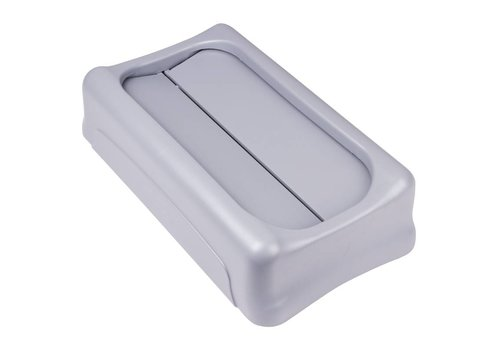 Rubbermaid Slim Jim Tuimeldeksel, Grijs (Restafval)