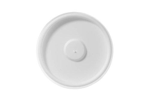 HorecaTraders 11 cl. flat lid White (1000)