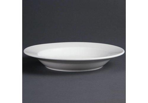 Olympia Diepe porselein borden 27 cm (stuks 6)