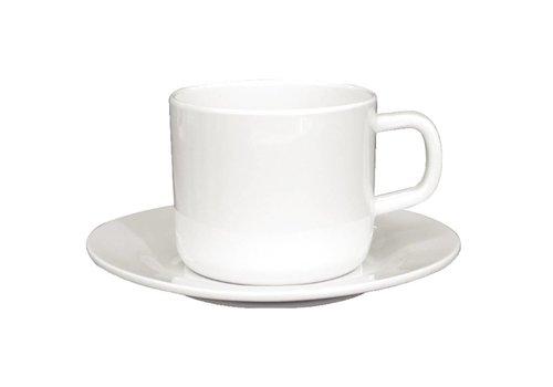 HorecaTraders Melamin Kaffee- / Tee-Cup 21,5cl | 12 Stück