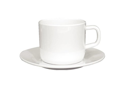 HorecaTraders Melamine Koffie/Theekop 21,5cl | 12 stuks