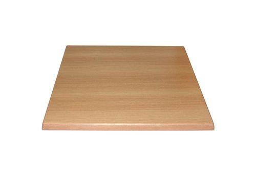 Bolero Tabletop beech | 2 Dimensions