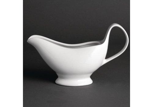 Olympia Porzellan-Weiß Untertasse 36 cl | 6 Stück