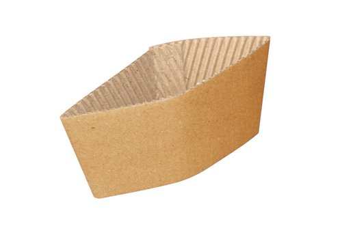 HorecaTraders Cardboard cup holders (1000) | 2 Sizes