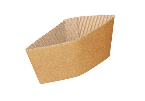 HorecaTraders Kartonnen bekerhouders (1000 stuks) | 2 Formaten