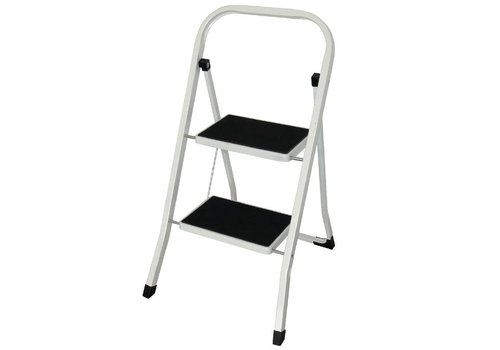 HorecaTraders Foldable ladder 2 steps - MANY FOR LITTLE