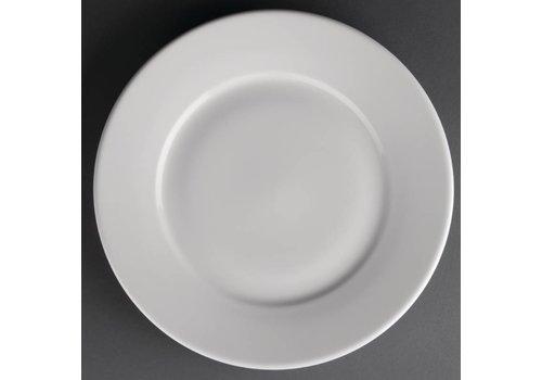 Athena Athena Hotelware borden met brede rand | 25cm