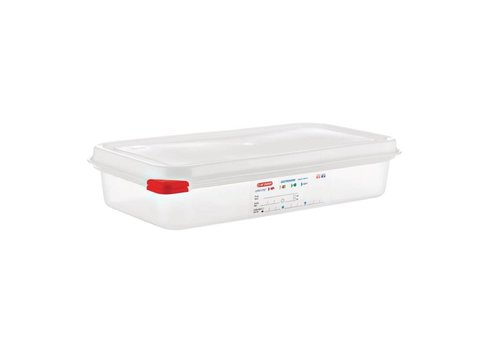 Araven Food Trays GN 1/3 (4 pieces) | 2.5 liter