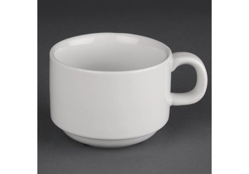 Athena Koffiekop wit porselein | 20cl (stuks 24)