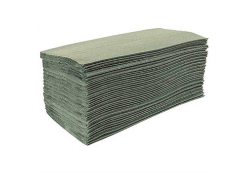 Jantex Gevouwen papieren handdoeken 1-laags (15 pakken)