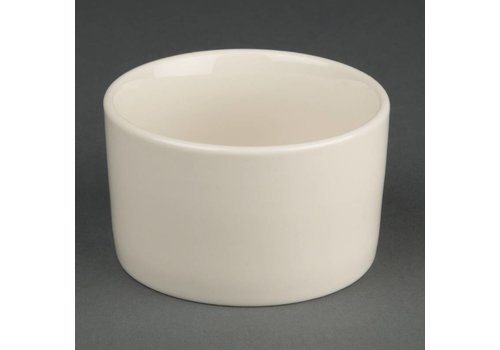 Olympia Porselein Ivoor Kom 9 cm (stuks 12)