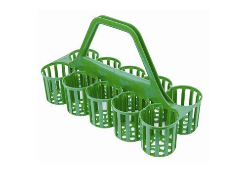 HorecaTraders Carrier rack for bottles and glasses