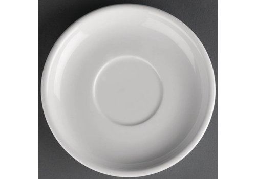 Athena White porcelain dish | 14cm (pieces 24)
