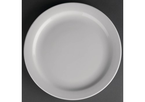 Athena Porcelain plate with narrow edge | 23 cm (piece 12)
