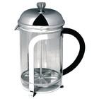 HorecaTraders Chrome Kaffeebereiter 6 Kops