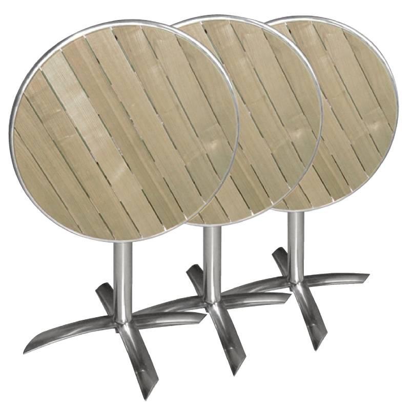 inklapbare tafel met houten blad kopen horecatraders. Black Bedroom Furniture Sets. Home Design Ideas