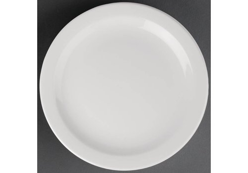 Athena Porcelain plate with narrow edge | 28 cm (piece 6)