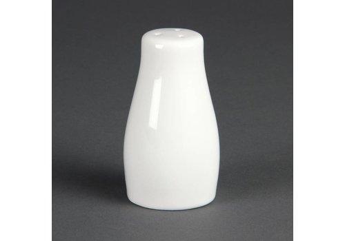 Olympia Zoutstrooier Porselein Wit 9cm | 12 stuks