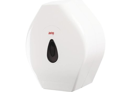 Jantex Jumbo Toilettenpapierspender Kunststoff weiß