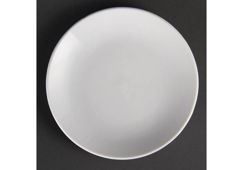 Olympia Weiße Porzellanteller rund 15 cm (12 Stück)