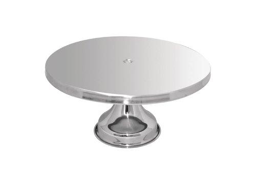 HorecaTraders Pie Dish Ø33 cm | rostfrei