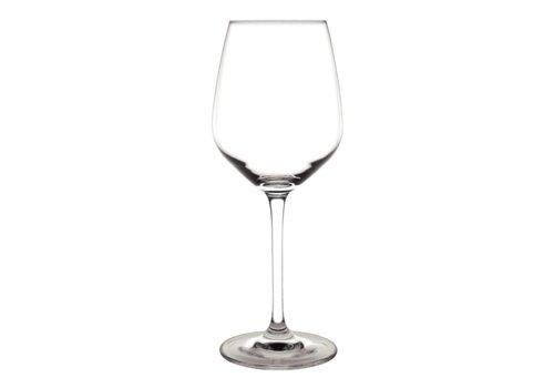 Olympia Kristallen chime wijnglazen, 365 ml (6 stuks)