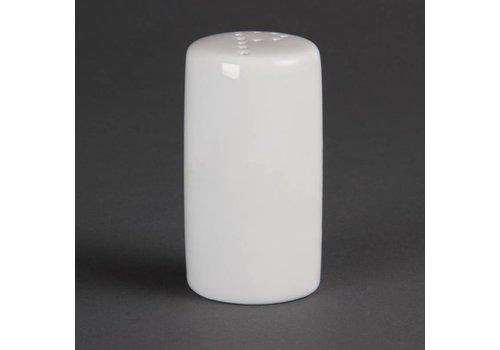 Olympia Pfefferstreuer Weißes Porzellan 8cm | 12 Stück