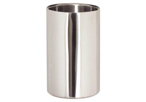 HorecaTraders Wine Cooler polished stainless steel