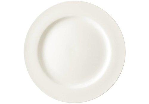 HorecaTraders Weißen Porzellanteller | 15 cm (6 Stück)