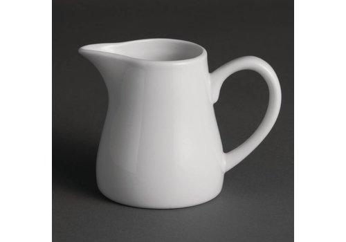 Olympia Witte porselein melkkan | 21,2 cl (Stuks 6)