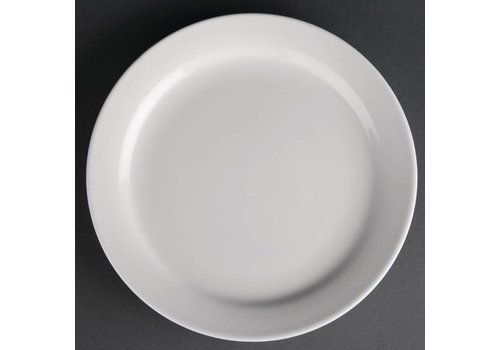 Athena Porcelain Plate with Narrow Edge 15 cm (12 pieces)