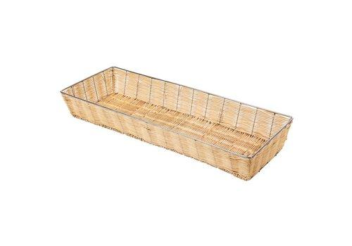 HorecaTraders Stackable bread basket   60 x 20 x 8 cm