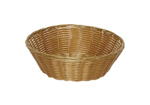 HorecaTraders Round Table Basket Ø 20 x 7 cm (6 pieces)