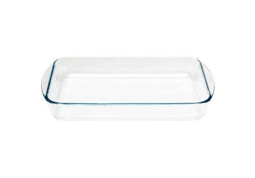 Pyrex Rechthoekig glazen ovenschaal, 400x270mm