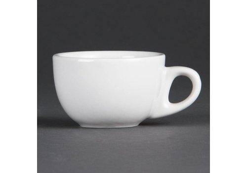 Olympia Espresso kop Wit Porselein 8,5cl | 12 stuks