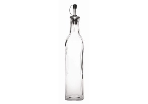 Olympia Glas Ölflasche 500ml | 6 Stück