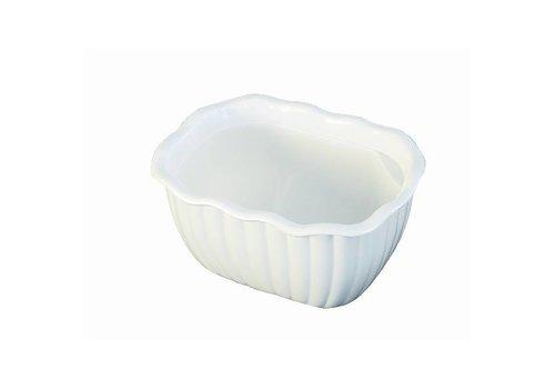 HorecaTraders Unbreakable Präsens Maßstab Weiß