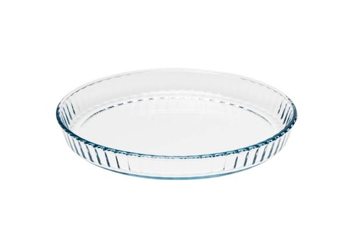 Pyrex Glass quiche dish 27cm