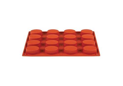HorecaTraders Formaflex siliconen bakvorm | 16 vormen