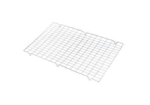 HorecaTraders Afkoelrooster SS | 42 x 25 cm