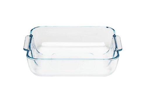 Pyrex Vierkant glazen ovenschaal, 210x210mm