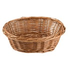 HorecaTraders Oval Table Basket | 18 x 23 x 8 cm