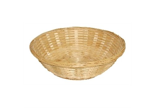 HorecaTraders Bread Basket round | Ø 20 cm (Box 6)