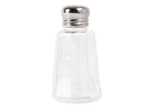 HorecaTraders Salz und Pfeffer Set von Pilz | 12 Stück