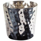 HorecaTraders Stainless steel cup for Frites | H 8,5 cm