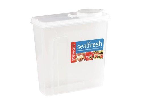 HorecaTraders Frühstück Box Kunststoff