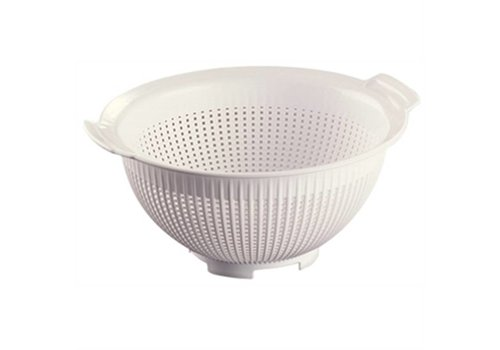 Araven Kunststoff-Sieb (weiß) | 28 cm Ø