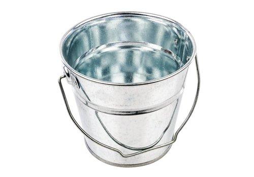 HorecaTraders Round galvanized bucket | 2 Sizes
