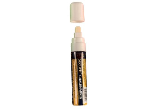 Securit Löschbaren Marker Weiß | 15 mm